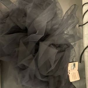 Verite bustle black tutu
